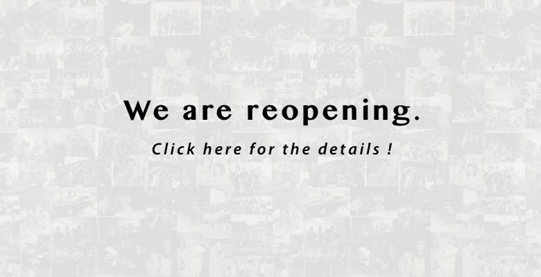 We are reopening.